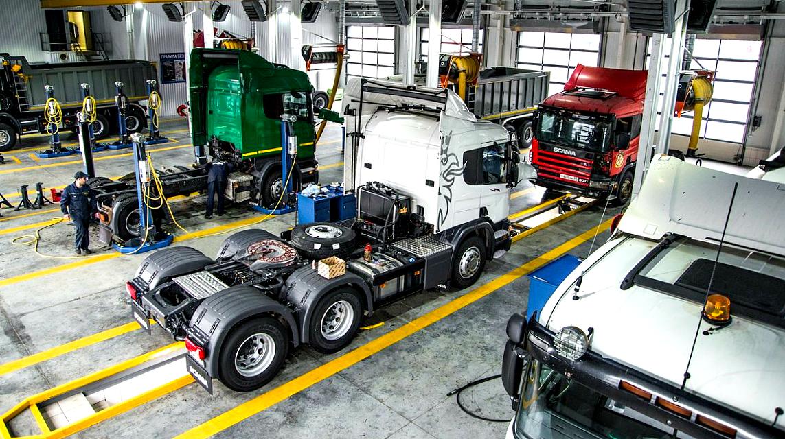 Памятка: что делать, если грузовик повредили на техобслуживании?